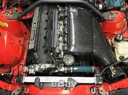 Bmw M3 E36 Grand Volume D'admission En Fibre De Carbone Airbox 3.0 / 3.2 S50 (e46 Csl Style)