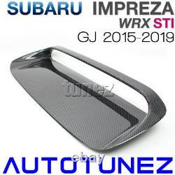 Capot D'évacuation De L'admission D'air En Fibre De Carbone Scoop Bonnet Pour Subaru Wrx Sti Gj 2015 2016 G