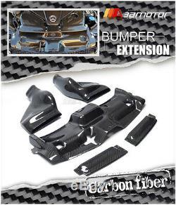 Carbon Fiber Engine Bay Gruppe M Style De Froid Admission D'air Pour Mercedes W204 C63 Amg
