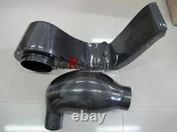 Carbon Js Racing Air Intake Box & Tunnel (pas De Kit De Montage Et Filtre À Air) Pour S2000