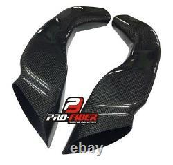 Carbon Race Pipes Prises D'air Dutcs Tubes Suzuki Gsxr Gsxr 1000 2003-2004 K3