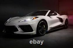 Corvette C8 Engine Intake Side Vents Carbon Fiber Racing Sport Concepts- C8