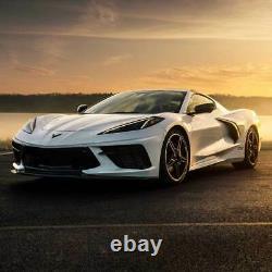 Corvette C8 Front Intake Évents Carbon Fiber Racing Sport Concepts
