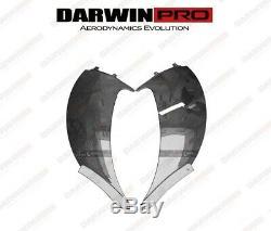 Darwinpro Mclaren Mp4 12c En Fibre De Carbone Côté Admission Tuning Vanes