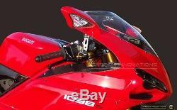 Ducati 1098 1198 848 Admission D'air En Fibre De Carbone Couverture Panneaux Latéraux En Carbone Véritable