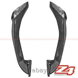 Ducati 848 1098 1198 Inner Air Flow Intake Ram Tubes Fairing Cowl Fibre De Carbone