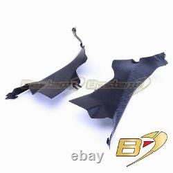 Ducati 899 1199 1299 Panigale 100% Fibre De Carbone Ram Air Intake Dash Panel Matte