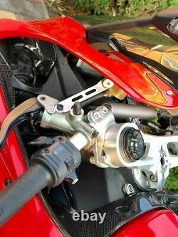 Ducati Panigale 899 959 1199 1299 Prise D'air En Fibre De Carbone Couvre-lame
