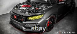Eventuri Carbon Fibre Air Intake Kit S'adapte Honda CIVIC Type R Fk8 2017