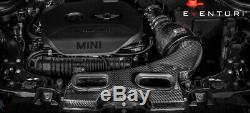 Eventuri Fibre De Carbone Kit D'admission D'air Correspond À Mini Cooper S F56 / Jcw Pré-lci