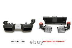 Fabspeed Porsche 997 Turbo Carbon Fibre Compétition Prise D'air