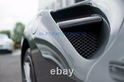 Ferrari 488 Gtb / Spider Carbon Fiber Côté Volets D'admission D'air Actif / Nageoires