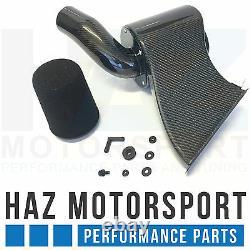 Fibre De Carbone À Induction Kit + Aspiration Boyau D'entrée Vw Golf Mk7 R / Gti Audi S3 8v Bleu