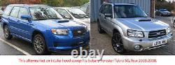 Fibre De Carbone Air Intake Vent Hood Scoop Bonnet Pour Subaru Forester 2003-2008 2g