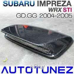 Fibre De Carbone D'entrée D'air Scoop Bonnet Pour Capot Subaru Wrx Sti Gg 2004-2005 G