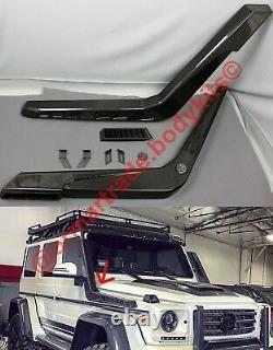 Fibre De Carbone Snorkels Air Intake Pour Mercedes G550 G55 G63 W463 Brabus Style