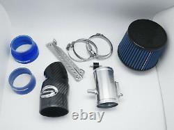 Filtre De Système D'admission D'air De Fibre De Carbone Pour 01-07 Subaru Impreza Wrx Sti Gd Gg