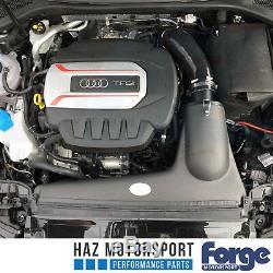 Forge En Fibre De Carbone D'admission À Induction Kit Audi S3 8v Vw Golf Mk7 R / Gti Noir Tuyau