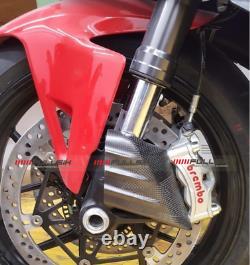 Fullsix Carbon Fibre Brake Caliper Intake Coolers Plain Weave Satin