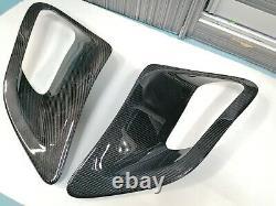 Gloss Fibre De Carbone Gt2 Aile Latérale Air Intake Évents Scoops Ajustement Porsche 997 Turbo