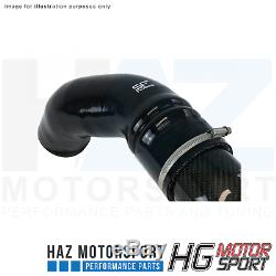 Hg Motorsport 3 Le Général En Fibre De Carbone Froid Kit D'admission D'air Pour Vw Golf Mk7 R / Gti