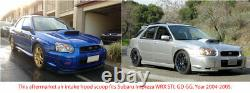 Hotte En Fibre De Carbone Bonnet D'admission Vent Scoop Pour Subaru Impreza Wrx Sti 2004-2005