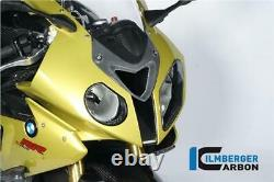 Ilmberger Gloss Carbon Fibre Air Intake Duct Front Centre Pièce Bmw S1000rr 2010