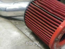 Jdm Zero 1000 Cold Air Intake Fibre De Carbone 98-02 Honda Accord H22 F20b H23