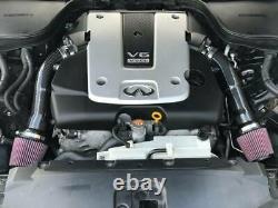 Kit D'admission D'air De Fibre De Carbone Haute Vitesse 370z G37 Q50 Q50s Q60 Fx37 M37 Vq37vhr