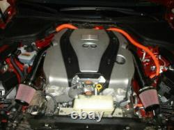 Kit D'admission D'air En Fibre De Carbone S'adapte 370z G37 Q50 Q50s Q60 Fx37 M37 Vq37vhr