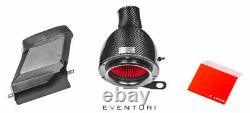Kit D'admission D'induction De Fibres De Carbone Noir Eventuri Pour Modèles Audi S1 2.0 Tfsi