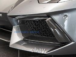 Lamborghini Aventador Carbon Fiber Front Bumper Intake Vent Surrounds