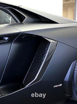 Lamborghini Aventador Carbon Fiber Side Intake Vents Trim