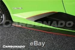 Lamborghini Lp610 Lp580 Huracan En Fibre De Carbone Style Aspiration Côté Rz Body Kit Évents