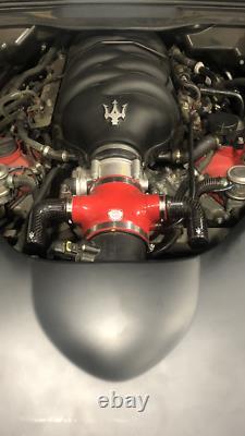 Maserati Granturismo Qp Intake Air + Chambre De Upgraded Son Ensemble En Fibre De Carbone