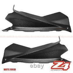 Matte 2009-2015 Rsv4 Fibre De Carbone Prise D'air Avant Supérieure Dash Fairing Cowling