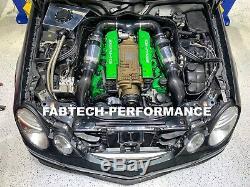 Mercedes Benz En Fibre De Carbone Amg E55 Amg Prise Scoops Supercharged Performance