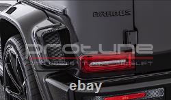 Mercedes Classe G W463a W464 Carbon Front / Prise D'air Arrière Couvre Autoclave Hq