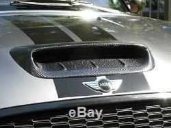 Mini Cooper S Gen 1 / Jcw R53 Hatch En Fibre De Carbone Bonnet Scoop Air Entrée D'air