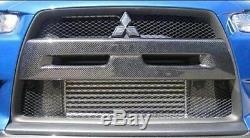 Mitsubishi Evo X 10 Pare-chocs Avant En Fibre De Carbone Grille Couverture Mold Apport Z0913