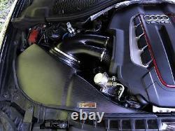 Pipercross V1 Par Arma Audi Rs6 (c7) 2012-on Carbon Fibre Cold Air Intake Kit