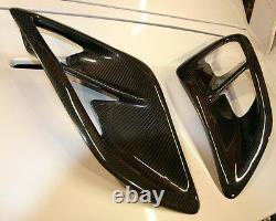 Porsche 997 Turbo Side Air Capture Scoops En Carbon Fiber S'adapte 2005 À 2012