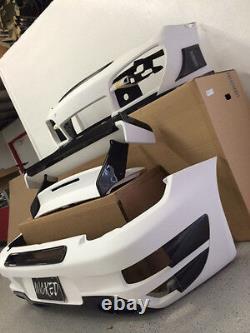 Porsche Ta Gt Street R Bumper Arrière 997 Turbo Avec Haut En Fibre De Carbone Grill Et Prises