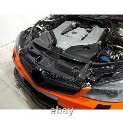Pour Benz W204 C63 Amg Système D'admission D'air Froid De Voiture Fibre De Carbone Sèche