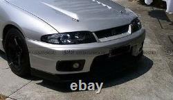 Pour Nissan Skyline R33 Gtr Carbon Fiber Front Bumper Air Duct Intake Border