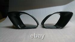 Pour Porsche 986 Boxster 1996-2004 Side Air Scoop Vents Intake Cover Fibre De Carbone
