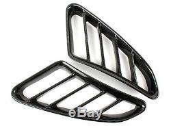 Prise En Fibre De Carbone Côté Vent Air Duct Cover Pour Porsche Cayman S 987 4 Ligne