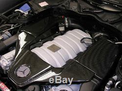 Prise En Fibre De Carbone Fibre Air Amg C63 Clk63 Ml63 R63 Sl63 Cls63 E63 S63