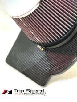 S'adapte Cadillac Ctsv Cts-v 6.2l V8 Suralimenté 09-15 Carbon Fiber Intake Kit