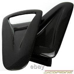 Scopione Carbon Fiber Hood Air Vents Intake Duct Insert Pour Nissan 09-19 Gtr R35